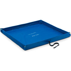 "dqe® flexible containment pool, 4l x 4w x 4""h, blue DQE® Flexible Containment Pool, 4L x 4W x 4""H, Blue"