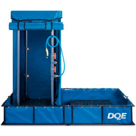 dqe® standard decon shower system, steel pool DQE® Standard Decon Shower System, Steel Pool