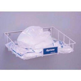 "Horizon Mfg. Apron Dispenser Tray, For Horizontal Packaged Aprons, 6""H x 20-1/2""W x 15""D"
