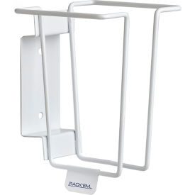 4071 Horizon Mfg. Sharps Container Rack 4071, Holds 1 Quart Sharps Container, White