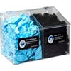 5121 Horizon Mfg. 2-Compartment Clear Hair Net/Beard Cover/Shoe Cover/Arm Protector Dispenser