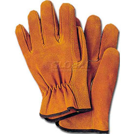comfitwear® split leather drivers gloves, suede leather, natural, medium, 1 dozen ComfitWear® Split Leather Drivers Gloves, Suede Leather, Natural, Medium, 1 Dozen
