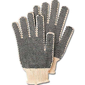 comfitwear® dotted knit gloves with plastic dots on both sides, natural, one size, 1 dozen ComfitWear® Dotted Knit Gloves with Plastic Dots On Both Sides, Natural, One Size, 1 Dozen
