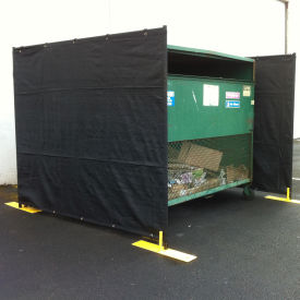 RF3-7.5DB Dumpster Enclosure 3 Sided - 7-1/2 x 7-1/2