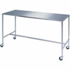 "8386 Lakeside; 8386 Stainless Steel H-Brace Instrument Table - 20""L x 16""W x 34""H"