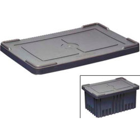 lewisbins snap-on lids for conductive divider boxes fits dc3000 series LEWISBins Snap-On Lids For Conductive Divider Boxes Fits DC3000 Series