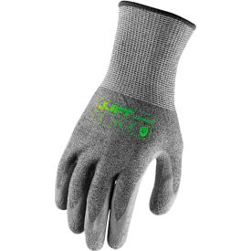 lift safety latex crinkle gloves, carbonwire, a7, large, knit wrist, 13 gauge Lift Safety Latex Crinkle Gloves, Carbonwire, A7, Large, Knit Wrist, 13 Gauge