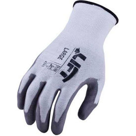 GSL-12W2L Lift Safety Cut Resistant Staryarn Polyurethane Latex Glove, XXL, GSL-12W2L