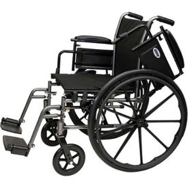 "probasics 2012ah lightweight wheelchair, 18"" x 16"" seat, flip back desk arms, swing-away footrests ProBasics 2012AH Lightweight Wheelchair, 18"" x 16"" Seat, Flip Back Desk Arms, Swing-away Footrests"