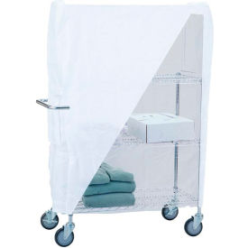 "r&b wire products uc1836c linen cart nylon cover, 36""l x 18""w x 53""h, white R&B Wire Products UC1836C Linen Cart Nylon Cover, 36""L x 18""W x 53""H, White"