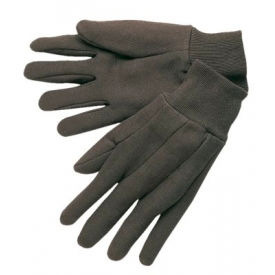 7102 Cotton Jersey Gloves, Clute Pattern with Knit Wrist, Memphis Gloves 7102, Ladies, 12 Pairs