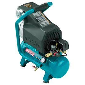 MAC700 Makita; MAC700, 2 HP, Hand Carry, 2.6 Gallon, Hot Dog, 130 PSI, 3.3 CFM, 1-Phase 120V