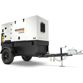 magnum towable/backup generator w/ electric start, diesel, 46000/48000 rated watts Magnum Towable/Backup Generator W/ Electric Start, Diesel, 46000/48000 Rated Watts