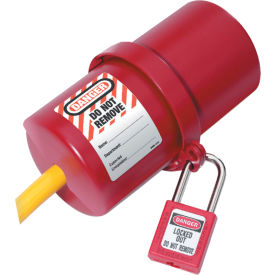 488 Master Lock; Rotating Electrical Plug Lockout, 220-550 Volts Plus, 488