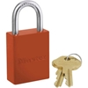 6835ORJ Master Lock; Safety 6835 Series Aluminum Padlock, Hi-Vis Orange, 6835ORJ