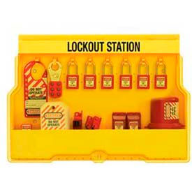 S1850E410 Master Lock; Lockout Station, Electrical Focus, Zenex; Thermoplastic Padlocks, S1850E410