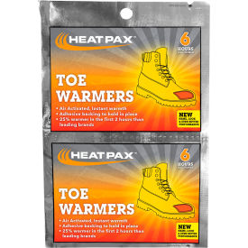 OccuNomix Heat Pax Toe Warmers 5-Pack, 1106-10TW