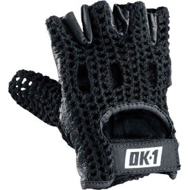 occunomix knuckle lifters half-finger gloves full-grain leather, black, l, 1 pair, ok-nwgs-blk-l OccuNomix Knuckle Lifters Half-finger Gloves Full-Grain Leather, Black, L, 1 Pair, OK-NWGS-BLK-L