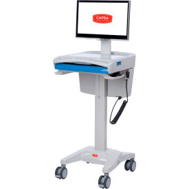 capsa healthcare m40 non-powered mobile lcd cart Capsa Healthcare M40 Non-Powered Mobile LCD Cart