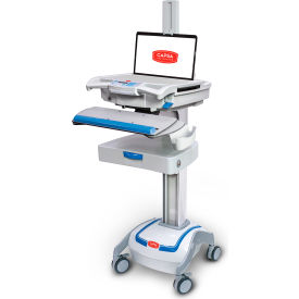 "capsa healthcare m38e non-powered point of care mobile laptop cart with 3"" drawer Capsa Healthcare M38e Non-Powered Point of Care Mobile Laptop Cart with 3"" Drawer"