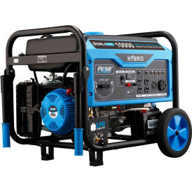 pulsar pg10000b16, 10,000w, portable generator, gasoline/lp, electric/recoil start, 120/240v Pulsar PG10000B16, 10,000W, Portable Generator, Gasoline/LP, Electric/Recoil Start, 120/240V