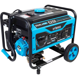 pulsar pg5250b, 5250/4250 watt, dual fuel portable generator, recoil start, 120/240v Pulsar PG5250B, 5250/4250 Watt, Dual Fuel Portable Generator, Recoil Start, 120/240V