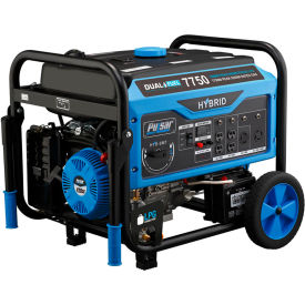 pulsar pg7750b, 6250/5950 watts, portable generator, gasoline/lp, electric/recoil start, 120/240v Pulsar PG7750B, 6250/5950 Watts, Portable Generator, Gasoline/LP, Electric/Recoil Start, 120/240V