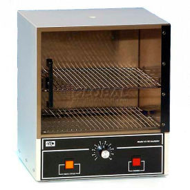 10-140 Quincy Lab 10-140 Acrylic See Through Door Analog Incubator, 0.7 Cu.Ft., 115V 120W