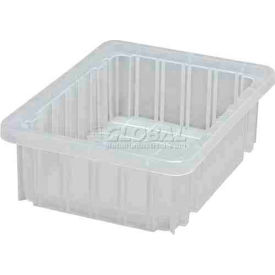 Global Industrial™ Clear-View Dividable Grid Container DG91035CL - 10-7/8 x 8-1/4 x 3-1/2