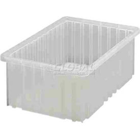 Global Industrial™ Clear-View Dividable Grid Container DG92060CL - 16-1/2 x 10-7/8 x 6