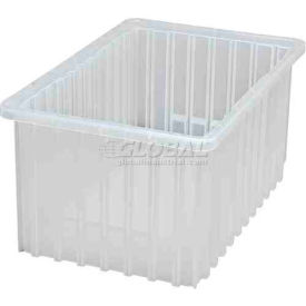 Global Industrial™ Clear-View Dividable Grid Container DG92080CL - 16-1/2 x 10-7/8 x 8