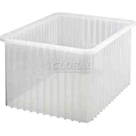 Global Industrial™ Clear-View Dividable Grid Container DG93120CL - 22-1/2 x 17-1/2 x 12