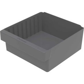 "31112GRY Akro-Mils Dividable Akrodrawer 31112 - 11-1/8""W x 11-5/8""D x 4-5/8""H, Gray"
