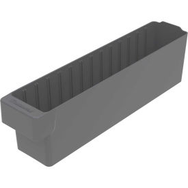 "31148GRY Akro-Mils Dividable Akrodrawer 31148 - 3-3/4""W x 17-5/8""D x 4-5/8""H, Gray"