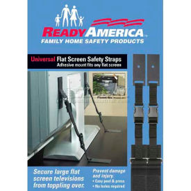 ready america® universal flat screen tv safety strap, 4521 Ready America® Universal Flat Screen TV Safety Strap, 4521