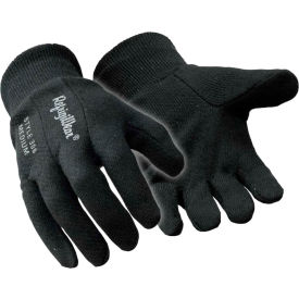 insulated jersey glove, black - large Insulated Jersey Glove, Black - Large