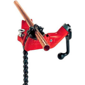 "40210 RIDGID; 40210 Model No. BC610 Top Screw Bench Chain Vise, 1/4""-6"" Pipe Capacity"