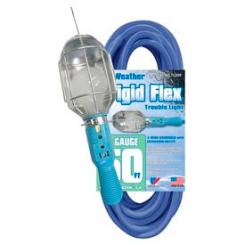 TL850 U.S. Wire TL850 50 Ft. Frigid-Flex Trouble Light, 16/3 Ga., Grounded Outlet
