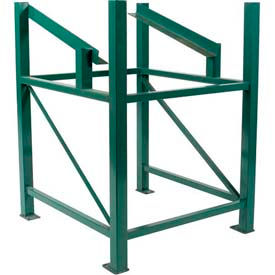 "steel king tss4048vg tilt & store stand for 48""l x 40""w workingtainer® Steel King TSS4048VG Tilt & Store Stand for 48""L x 40""W Workingtainer®"