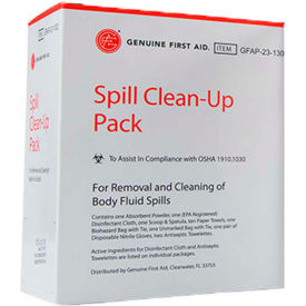 spill clean-up pack Spill Clean-Up Pack