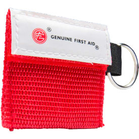 genuine® mini carrying case with key ring & cpr barrier Genuine® Mini Carrying Case with Key Ring & CPR Barrier