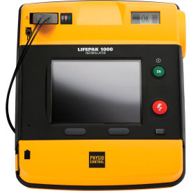 first voice™ lifepak 1000 graphic display defibrillator package First Voice™ Lifepak 1000 Graphic Display Defibrillator Package