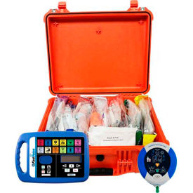first voice™ rugged case first aid responder kit with aed First Voice™ Rugged Case First Aid Responder Kit with AED