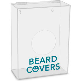 "trippnt™ acrylic small apparel dispenser for beard covers, 8-1/2""w x 11-5/8""h x 4-1/4""d  TrippNT™ Acrylic Small Apparel Dispenser for Beard Covers, 8-1/2""W x 11-5/8""H x 4-1/4""D"