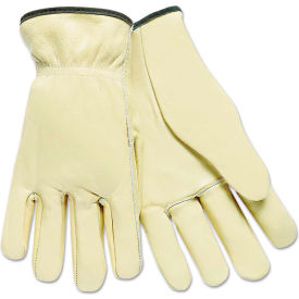 mcr safety 3200l full leather cow grain driver gloves, tan, large, 12 pairs MCR Safety 3200L Full Leather Cow Grain Driver Gloves, Tan, Large, 12 Pairs