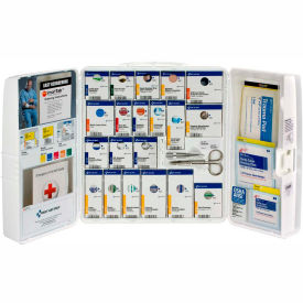 1001-FAE-0103 First Aid Only 1001-FAE-0103 Large First Aid Kit, 100 Pieces, OSHA Compliant, Plastic Case