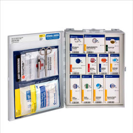 1050-FAE-0103 First Aid Only 1050-FAE-0103 Medium First Aid Kit, 112 Pieces, OSHA Compliant, Metal Case