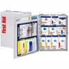 1350-FAE-0103 First Aid Only 1350-FAE-010 Metal First Aid Kit, Metal Detectable, 25 Person