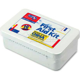 first aid only 240-an ansi-compliant first aid kit, 94 pieces, metal case