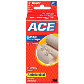 "ace 207313 elastic bandage with e-z clips, 4"" ACE 207313 Elastic Bandage with E-Z Clips, 4"""